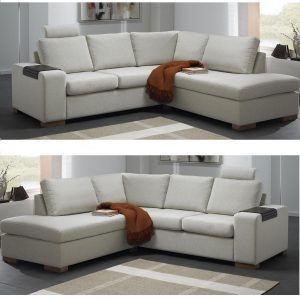 Atlanta sofa m/open-end – stof