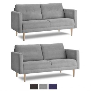 Chicago 2 pers. sofa – stof