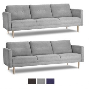Chicago 3 pers. sofa – stof