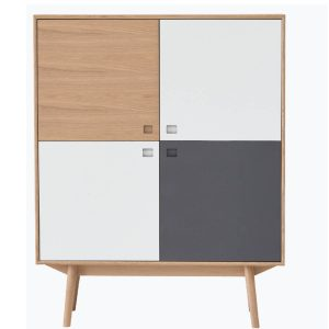 City highboard m/4 låger – L 110 cm
