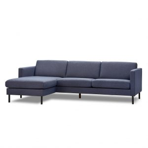 Elm chaiselong sofa – hurtig levering