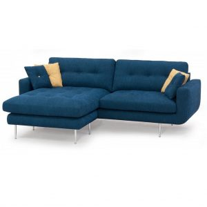 Geno 3 pers. chaiselong sofa m/flytbar puf – stof