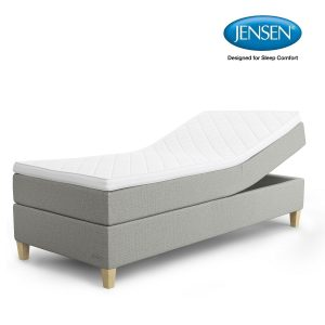 Jensen Diplomat Aqtive I elevationsseng – 80/90×200 cm