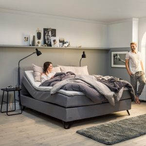 Jensen Diplomat Aqtive II elevationssenge – 160/180×200 cm