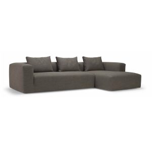 Kornum chaiselong sofa – stof